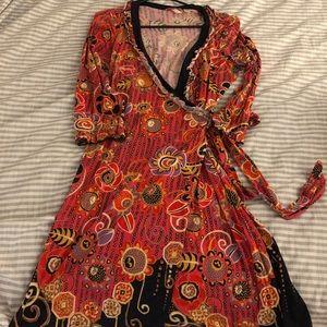 Anthropologie Wrap Dress (L)